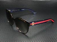 GUCCI GG0035S 004 Round Oval Havana Brown 54 mm Women's Sunglasses