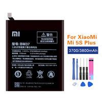 Original Battery BM37 For Xiaomi Mi 5S Plus Mi5s plus 3700/3800mAh Li-ion +Tools