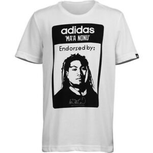 Official Adidas (Size 10 / 12) Kids Ma'a Nonu All Blacks Rugby YZ109 New Zealand