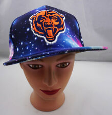 Chicago Bears Hat Galaxy Theme Snapback Baseball Cap Pre-Owned ST158