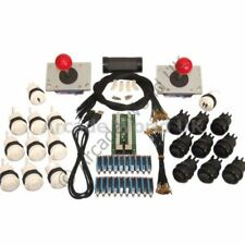 2 x Arcade Joysticks & 20 Buttons & Wiring Kit No 2