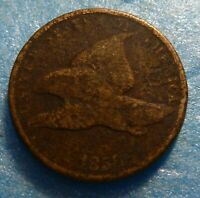 1858  Flying Eagle  Cent  Coin  #R 58 -2