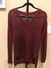 Mudd Knit V-Neck Tunic Sweater - Size L -