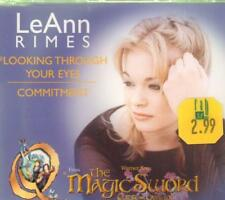LeAnn Rimes(CD Single)Looking Through Your Eyes / Commitment CD1-New