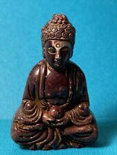 "Carved Stone Buddha Figurine 2 3/8"" Miniature"