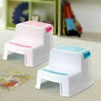 Step Stool for Toddlers Kid Ladder Anti-Slip Non-Skid Platform Sturd Lightweight
