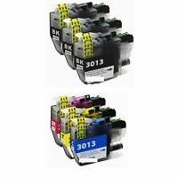 6 LC3013 LC-3013 Ink Cartridge for Brother MFC-J491DW MFC-J497DW J690DW J8950D