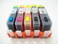 5 refill hp 564 Ink Cartridges refillable ink for Officejet 4620 4622 3520