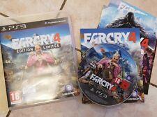 Far Cry 4 édition limitée pour console Sony PS3