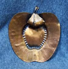 """Gregorian Copper Apple Wall Hanger 5"""" Tall Mint"""