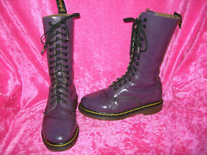 Dr. Martens 14loch made in England UK 4,5 EU 37,5 purple lila orig. Docs Boots