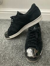 Adidas Superstar 80s Metal Toe Black Size 7 Mens Used