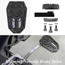 T6063 Aluminum Alloy Widening Non-slip Brake Pedal Motorcycle Bike Accessories