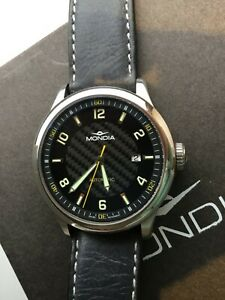 Mondia Swiss Automatic Field Watch ETA 2824 Automatic Sapphire + Geckota Straps