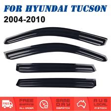 Weather shields Window Visors Weathershields For Hyundai Tucson 2004 to 2010
