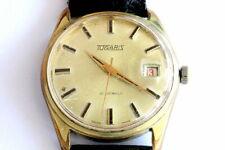 Tugaris green leaves 21 jewels ETA 2409 handwind watch
