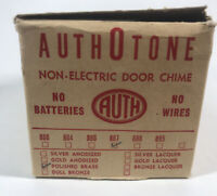 Vintage Authotone National Model 887 Mechanical Door Chime