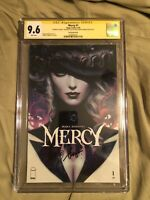"CGC 9.6 SS Mercy #1 Mirka Stanley ""Artgerm"" Lau Trade Dress Variant Cover Image"