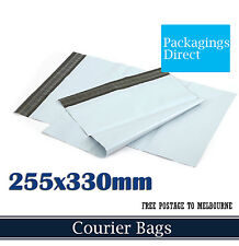 1000x Courier Bag #02 255x330mm - Poly Mailer Plastic Mailing Satchel