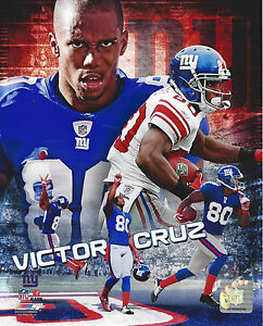 Victor Cruz 8x10 Unsigned Photo New York Giants