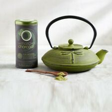 U-Matcha Charcoal detoxing premium Japanese Tea The Republic of Tea 1.5oz Matcha