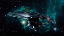 """Star Trek Outer Space Movie Game Art Fabric Wall Poster 24""""x13""""  069"""