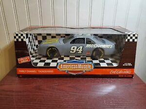 American Muscle 1996 Thunderbird Bill Elliott NASCAR 1:18 Stock Car Barn Find