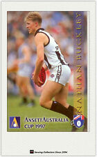 1997 AFL Ansett Australia Cup Card #4 Nathan Buckley (Collingwood)