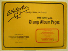 WHITE ACE -  COMMEM POSTAL CARDS & ENVELOPES  PAGES - PT 2  1984-1993   #WA-CPC2