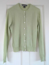 Ralph Lauren (Black label) Comme neuf Green Cashmere Cardigan-Taille M