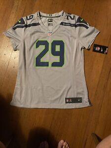 Nike On Field Seattle Seahawks Earl Thomas Jersey Womens Medium NWT