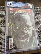 Avengers #684 CGC 9.8 1st App of The Immortal Hulk Avengers Label