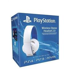 UFFICIALE SONY PLAYSTATION PS4 PS3 PS VITA Wireless Cuffie Stereo 2.0 NUOVO UK