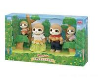 Sylvanian Families SLOTH FAMILY epoch Figures Doll 4 Character From Japan New