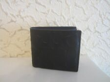 Coach Compact ID Signature Leather Men's Wallet