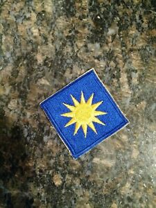 US Army 40th Infantry Division Patch, Uniform Insignia,WW2. New old stock.