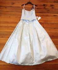 New Niki Livas Lt Blue Prom Quinceanera Formal Dress Ball Gown USA Union Made 12