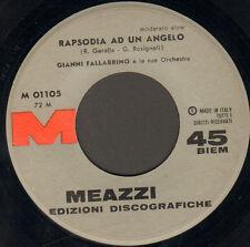 GIANNI FALLABRINO - Rapsodia Ad Un Angelo / Estrellita - Meazzi  - M 01105 Ita