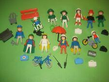 älteres Playmobil / Reisende und Figuren für den Zug / Klicky / Konvolut 1
