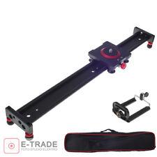 Slider 15.8'' / Camera Track Dolly Rail Shooting Rail Stabiliser for DSLR - 40cm