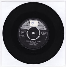 SP 45 TOURS DUANE EDDY BECAUSE THEY'RE YOUNG LONDON 45-HL-W 9162 en 1960