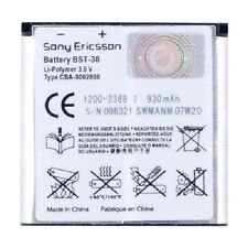 Original Sony Ericsson BST-38 Akku Accu Batterie Battery