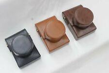 For Leica Q Q-P Q2 Camera Leather case Bag Strap