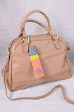 Tory Burch Catalina Satchel Clay Beige $495 NWT