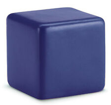 BLUE ANTI STRESS RELIEVER CUBE STRESS BALL RELIEF ARTHRITIS HAND PHYSIO TOY NEW