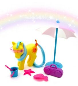 ⭐️ My Little Pony ⭐️ G1(MULTI-LISTING) Holiday Pony Good Weather & Accessories!