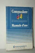 MANUALE D'USO COMMODORE 64 USATO EDIZIONE ITALIANA FR1 50612