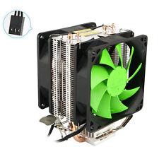 New Silent Dual CPU Cooler Heatsink For Intel LGA775/1156 AMD AM2+/AM3/AM4 Ryzen