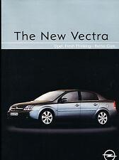 2002 Opel Vectra Original UK Car Sales Brochure