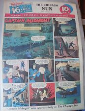 Captain Midnight Sunday #7 by Jonwon from 8/16/1942 Large Rare Full Page Size!